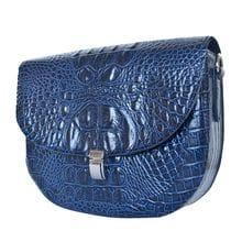 Кожаная женская сумка Amendola blue (арт. 8003-29)