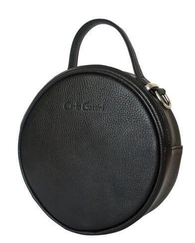 Кожаная женская сумка Avio black (арт. 8019-01)