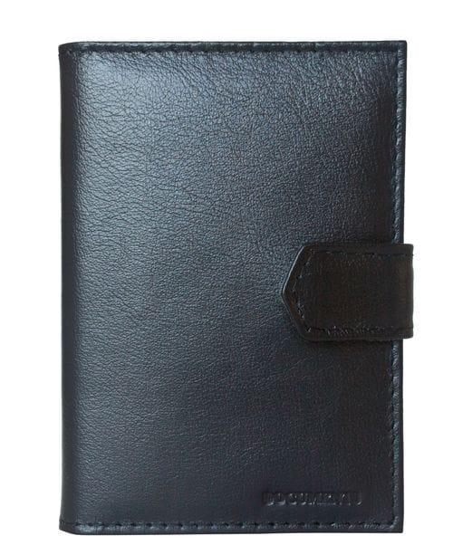 Кожаная документница Loricco black (арт. 7407-01)