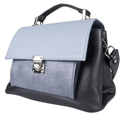 Кожаная женская сумка Agliano black (арт. 8036-01)