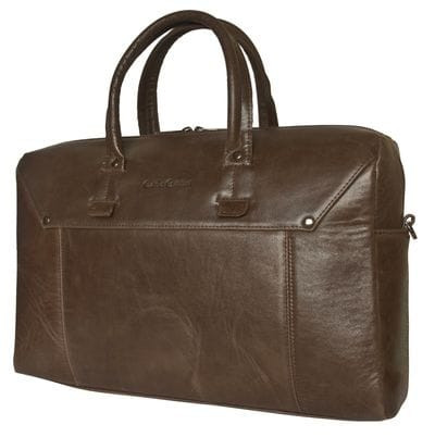 Кожаная мужская сумка Norbello brown (арт. 5041-02)