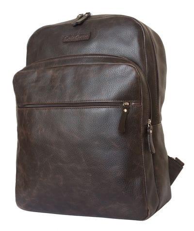 Кожаный рюкзак для ноутбука Monferrato brown (арт. 3017-04)