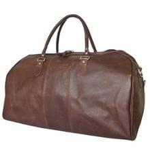 Кожаная дорожная сумка Campelli dark terracotta (арт. <br />4014-94)