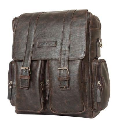 Кожаный рюкзак-сумка Fiorentino brown (арт. 3003-04)