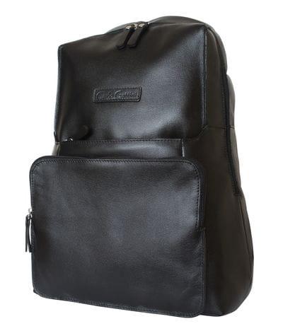 Кожаный рюкзак Avisio black (арт. 3026-01)