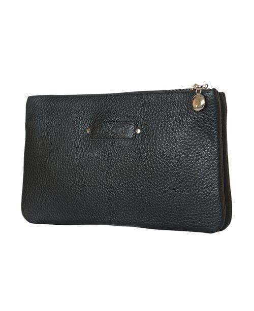 Кожаная женская сумка Cesine black (арт. 8001-01)