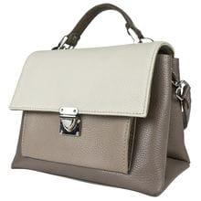 Кожаная женская сумка Agliano cappuccino (арт. 8036-04)