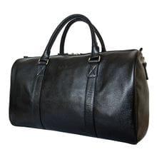 Кожаная дорожная сумка Noffo black (арт. 4018-01)