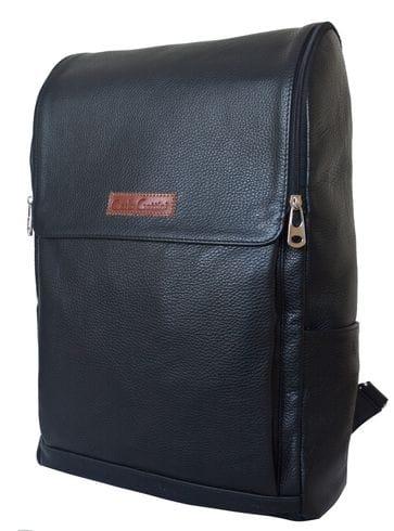 Кожаный рюкзак Tuffeto black (арт. 3049-01)