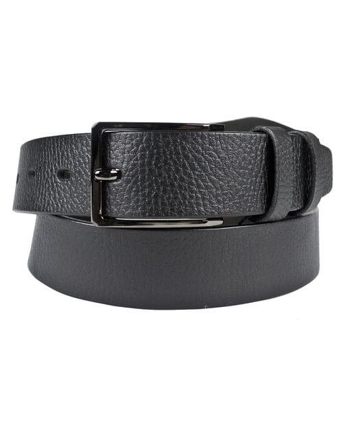 Кожаный ремень Genzano black (арт. 9012-01)