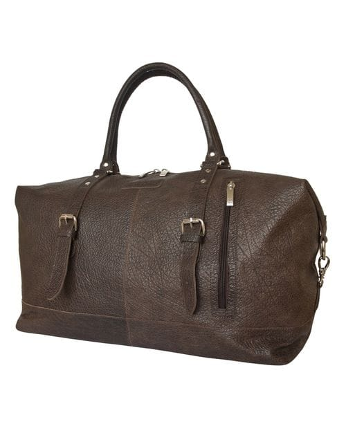 Кожаная дорожная сумка Campora brown (арт. 4019-84)