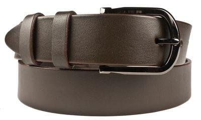 Кожаный ремень Brusino brown (арт. 9034-02)