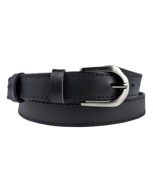 Кожаный ремень Falesina black (арт. 9023-01)