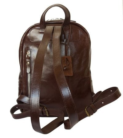 Женский кожаный рюкзак Anzolla brown (арт. 3040-02)