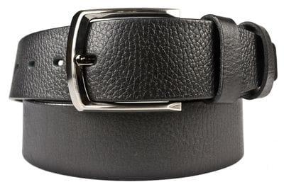 Кожаный ремень Forano black (арт. 9049-01)