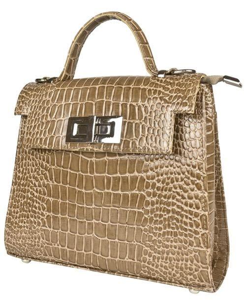 Кожаная женская сумка Arillette biege (арт. 8028-13)