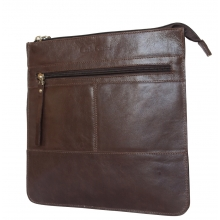 Кожаная мужская сумка Valbona brown (арт. 5022-02)