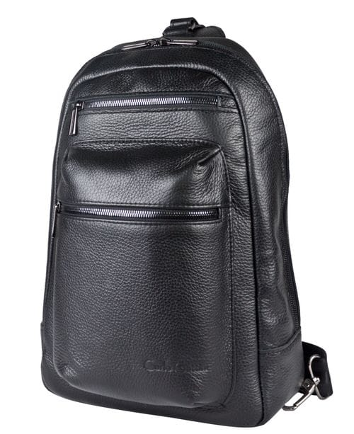 Кожаный рюкзак Mottola black (арт. 3085-01)