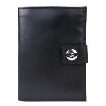 Кожаное портмоне Coste black (арт. 7416-01)