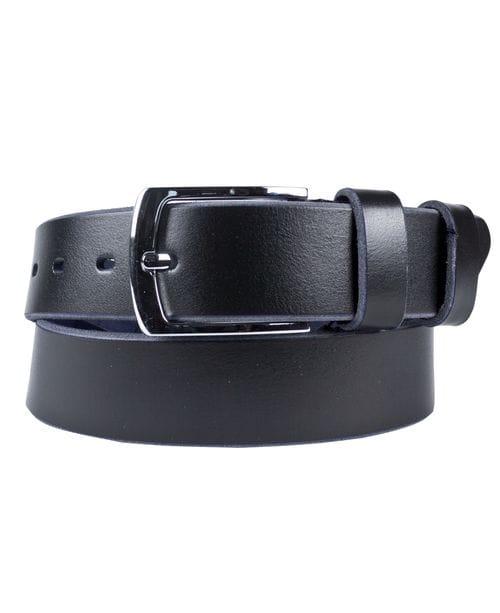 Кожаный ремень Montino black (арт. 9043-01)