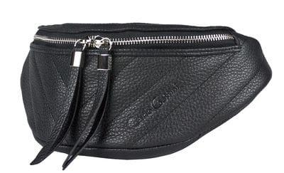Кожаная поясная сумка Vicenne black (арт. 7013-01)