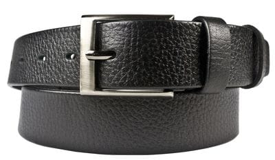 Кожаный ремень Alviano black (арт. 9050-01)