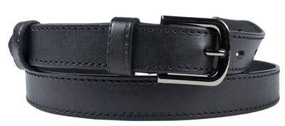 Кожаный ремень Roveda black (арт. 9024-01)