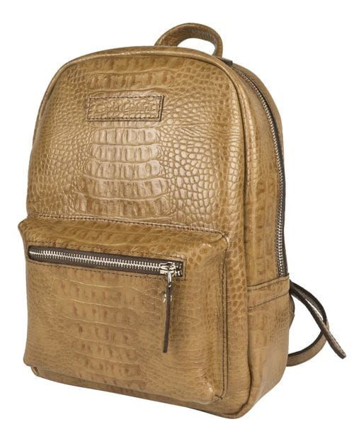Женский кожаный рюкзак Anzolla biege (арт. 3040-13)