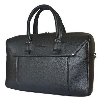 Кожаная мужская сумка Norbello black (арт. 5041-01)