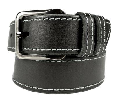 Кожаный ремень Monciano black (арт. 9006-01)