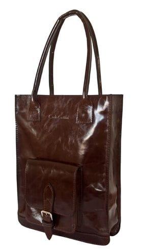 Кожаная женская сумка Arluno brown (арт. 8007-02)