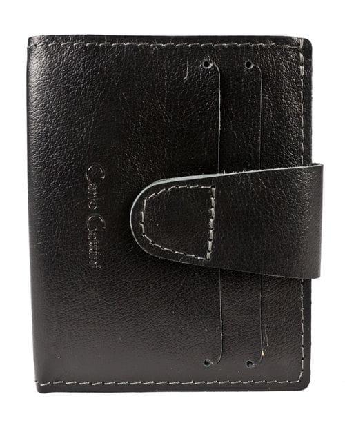 Кожаное портмоне Montano black (арт. 7414-01)
