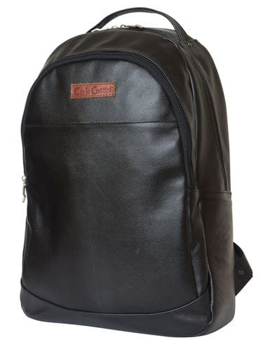 Кожаный рюкзак Faltona black (арт. 3031-01)