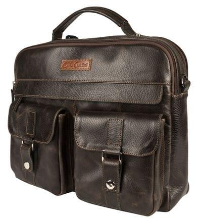 Кожаная мужская сумка Teolo (арт. 5059-04)
