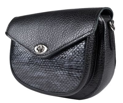 Кожаная женская сумка Azaria black (арт. 8040-01)