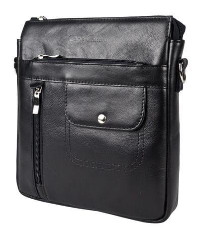 Кожаная мужская сумка Fiesole black (арт. 5054-01)