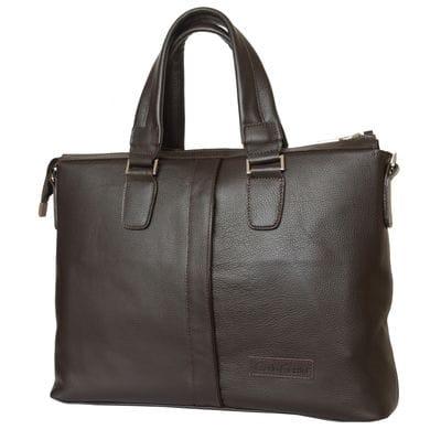 Кожаная мужская сумка Cimetta brown (арт. 5018-04)