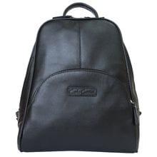 Женский кожаный рюкзак Estense black (арт. 3014-01)
