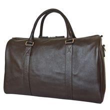 Кожаная дорожная сумка Noffo brown (арт. 4018-04)