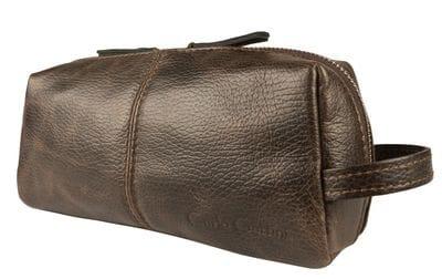 Кожаный несессер Colleferro brown (арт. 6005-04)