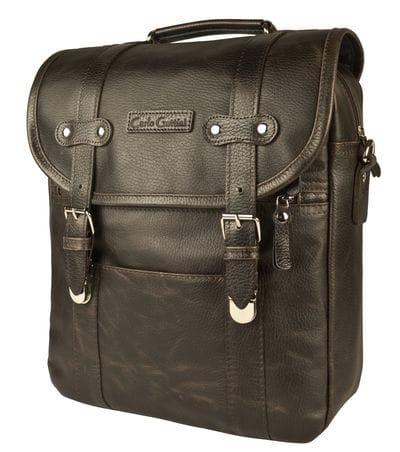 Кожаная сумка-рюкзак Tronto brown (арт 3005-04)