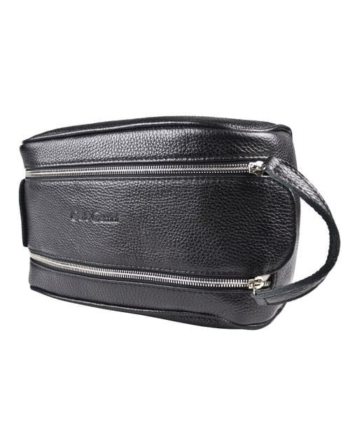Кожаный несессер Vione black (арт. 6007-01)