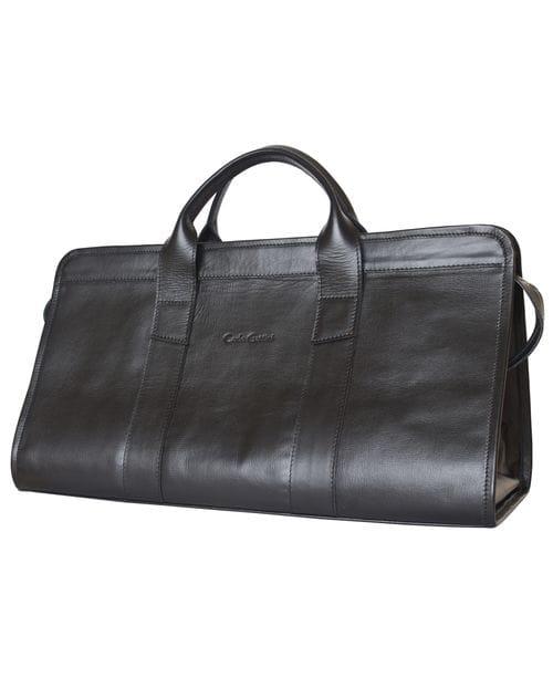 Кожаный саквояж Veirera black (арт. 4016-01)