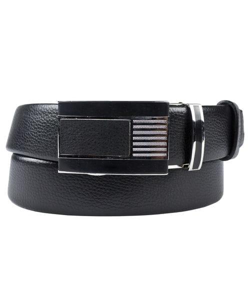 Кожаный ремень Dorsino black (арт. 9036-01)