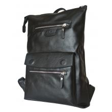 Кожаный рюкзак Vallata black (арт. 3069-01)