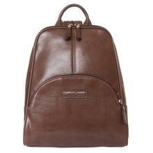 Женский кожаный рюкзак Estense brown (арт. 3014-21)