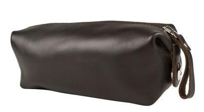 Кожаный несессер Alvano brown (арт. 6008-04)