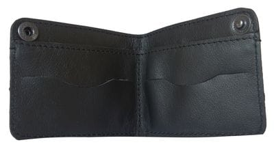 Кожаное портмоне Carmiano black (арт. 7401-01)