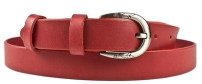 Кожаный ремень Laneri burgundy (арт. 9025-09)