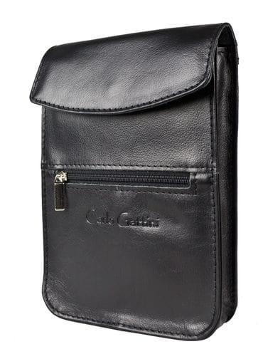 Нагрудная/поясная сумка Saltino black (арт. 5057-01)